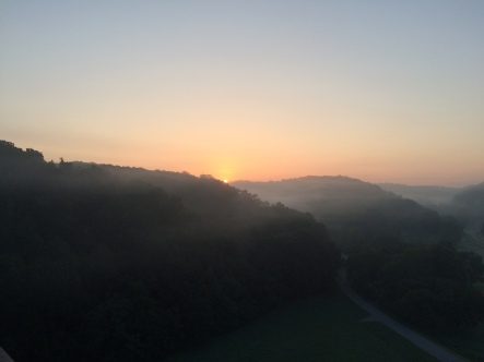 Sunrise Natchez Trace Bridge August
